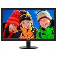 "מסך מחשב Philips 243V5QHSBA 23.6"" LED"